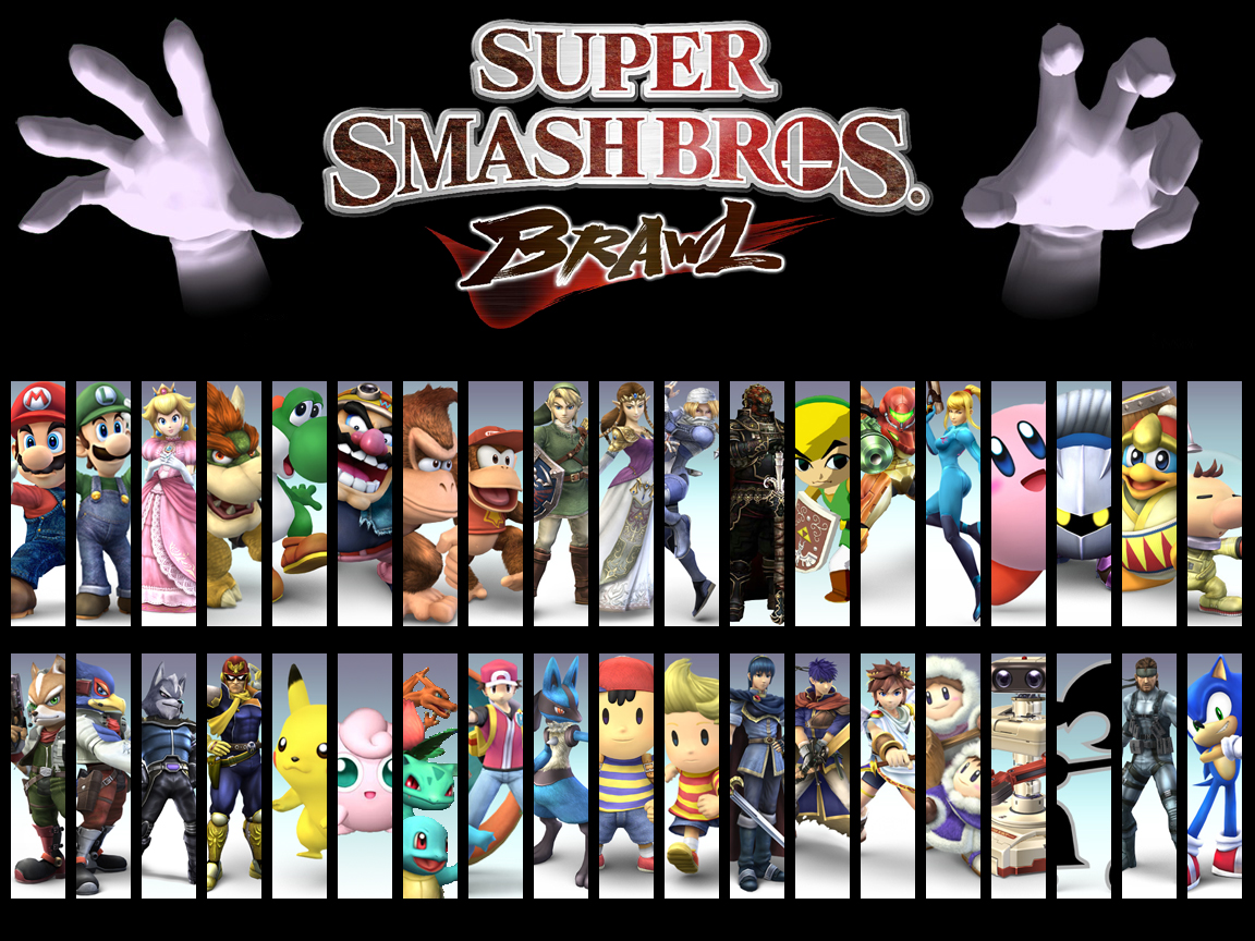 descargar super smash bros brawl para pc