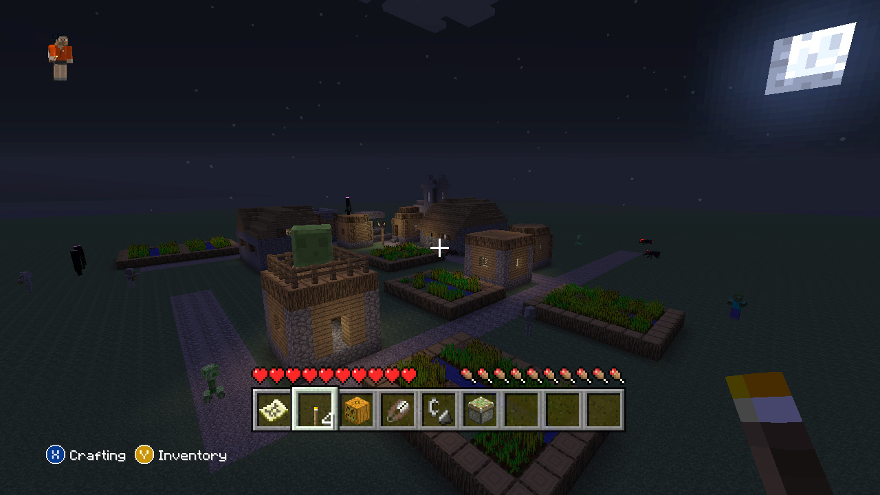 how to play minecraft xbox 360