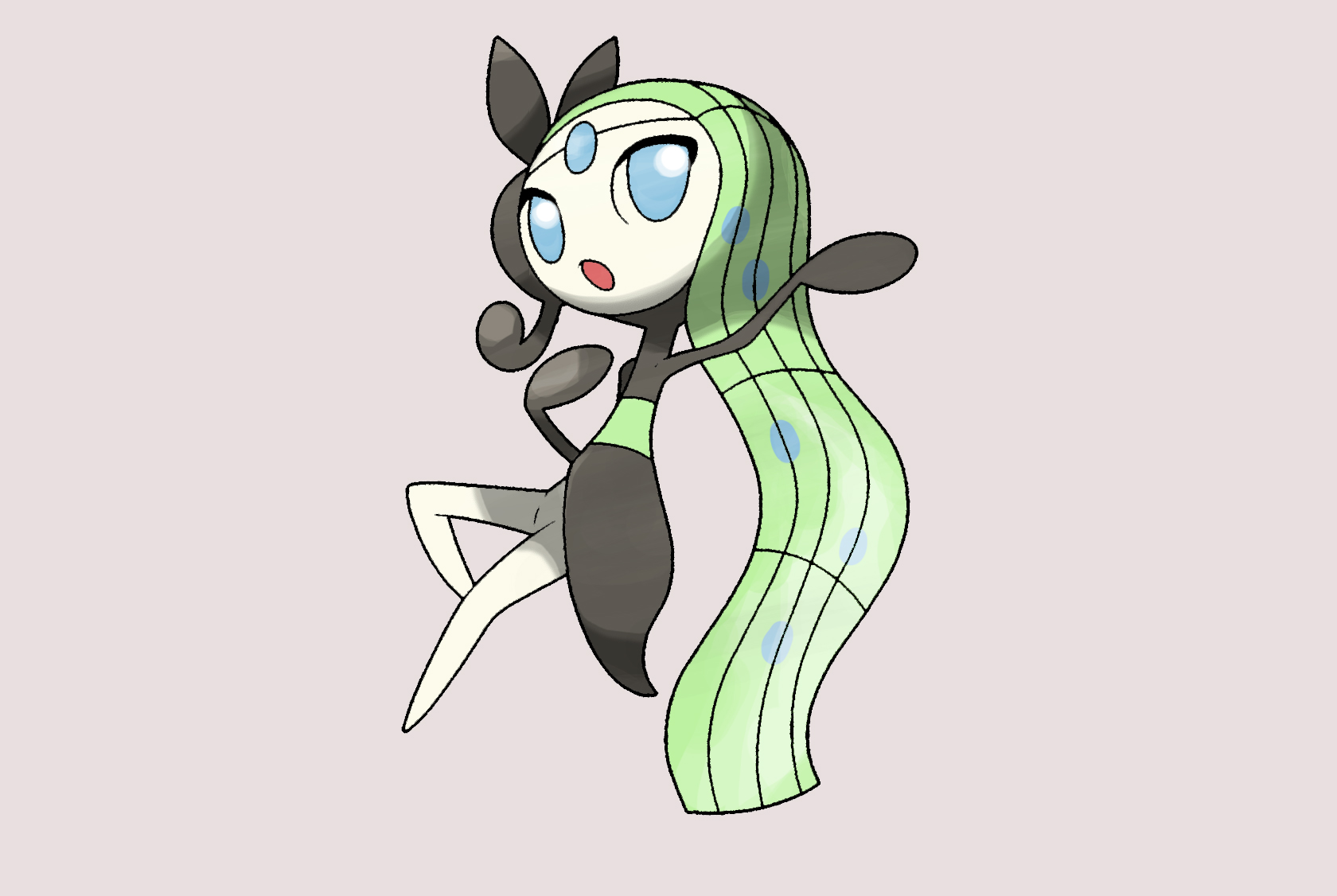 Pokemon Meloetta And Oshawott Images | Pokemon Images