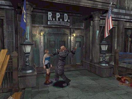 Jill e Nemesis em sua eterna e nostálgica batalha