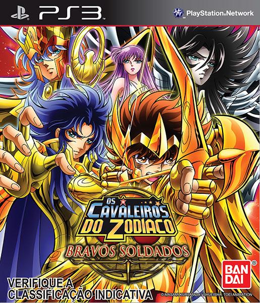 PS3 Jogo cavaleiros do Zodíaco